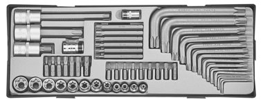 Torx-Kombinationssatz 52-teilig