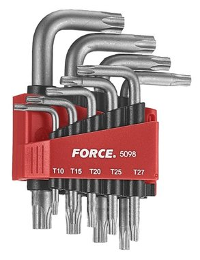 Winkelschlüsselsatz Torx 9 tlg