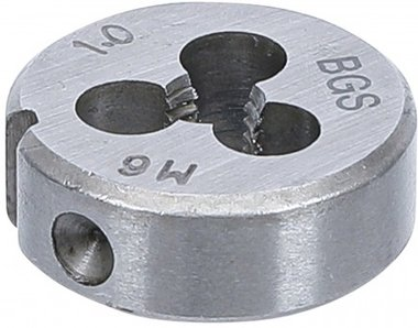 Gewindeschneideisen M6 x 1,0 x 25 mm