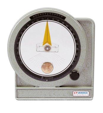 Olgetauchtes Goniometer - Metall - 0,05°