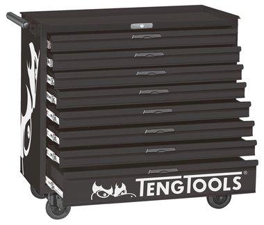Werkzeugwagen schwarz 8 Schubladen
