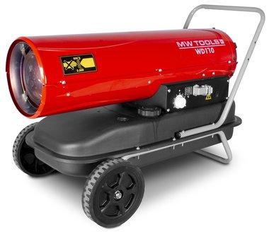 Heißluftgeblase Diesel 50kw mit Fernbedienung