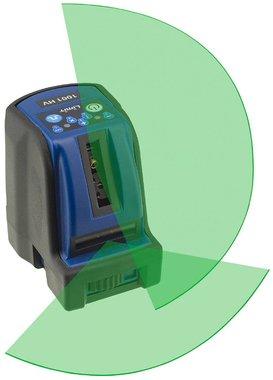 Kreuzlinienlaser 2 Linien mit grunem Laserlicht