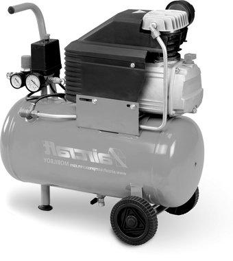 Mobiler Kompressor mit 8 bar, 24 Liter