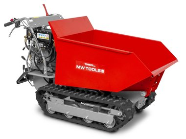 Mini-Raupendumper 500 kg 6F+2R