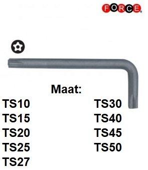 Winkeltorx TS 5-seitiger Schlusselsatz