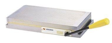 Magnetspannplatte mit mittelfeiner Stapelteilung 450mmL