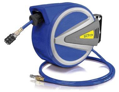 Drucklufttrommel AUTOMATIK mit 15m+1,5m PU m.Stopp-Funkt