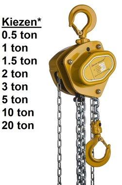 Handkettenzug 0,5t bis 20t