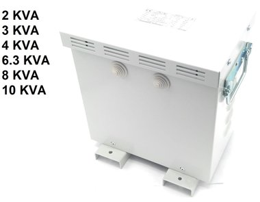 Transfo 3x220V auf 3x400V mit Gehäuse