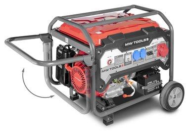 Benzin-Generator 6,5kw 3x400v Elektrostart