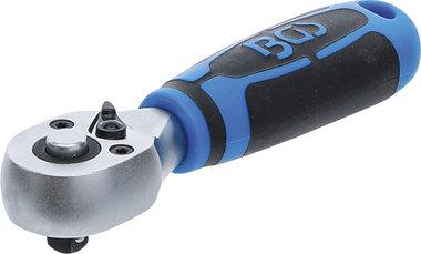 Mini-Umschaltknarre Abtrieb Außenvierkant 6,3 mm (1/4)