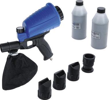 Druckluft-Sandstrahlpistole inkl. Zubehor 3-tlg