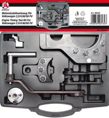 Motor-Einstellwerkzeug-Satz fur VAG 2.5 / 4.9D / TDI Pumpe-Duse