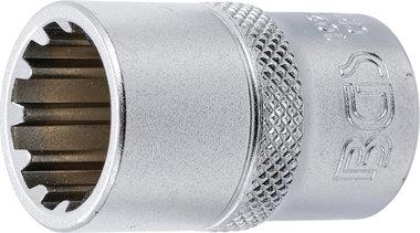 Steckschlüssel-Einsatz Gear Lock Antrieb Innenvierkant 12,5 mm (1/2) SW 16 mm