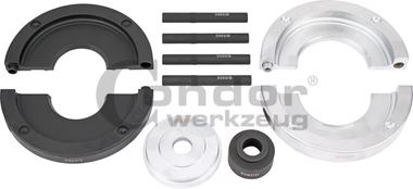Zubehorsatz fur Radlager Durchmesser 82 mm, Ford / Land Rover / Volvo