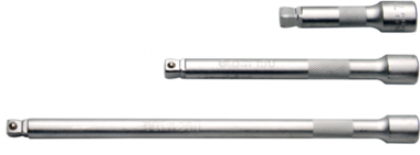Kippverlängerungs-Satz 10 mm (3/8) 75 / 150 / 250 mm, 3-tlg.