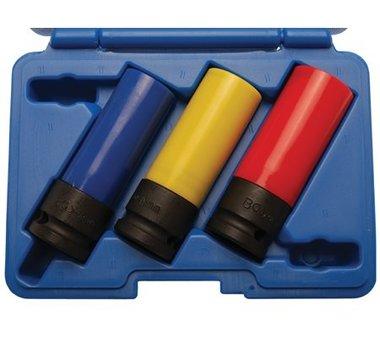 Kraft-Schon-Einsatz-Set, 12,5 (1/2) 17, 19 und 21 mm