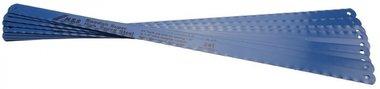 Metallsägeblätter, HSS flexibel, 300 mm Lang, 13 mm breit, 10-tlg.