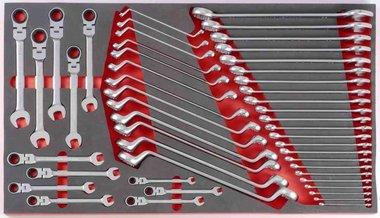 Schlüsselsatz in Weichschaum 48 tlg