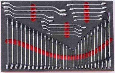 Schlüsselsatz in Weichschaum 42 tlg