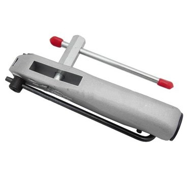 Spann- und Schneidwerkzeug für Schlauchbänder
