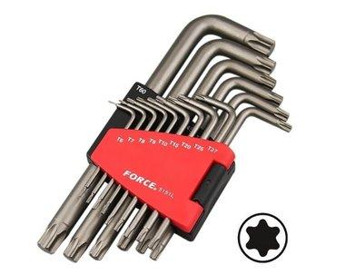 Winkelschlüsselsatz Torx lang 15 tlg