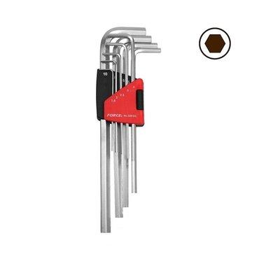 Winkelschlüsselsatz Innensechskant XL 9 tlg