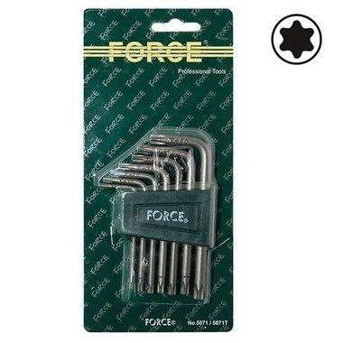 Winkelschlüsselsatz Torx 7 tlg