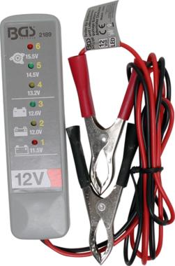 Batterie und Ladesystem-Tester