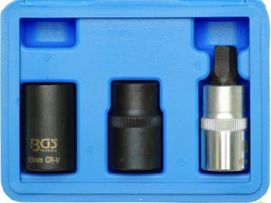Bremssattel-Spezial-Einsätze 12,5 mm (1/2) 3-tlg