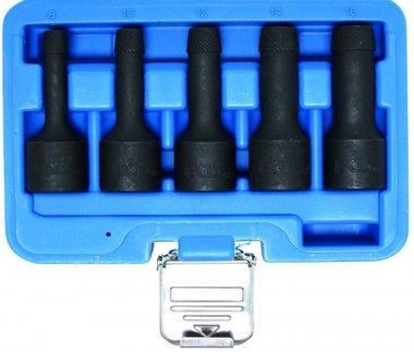 Spezial-Steckschlüssel-Einsätze, Twist, 12,5 (1/2), 8-16 mm 5-tlg.