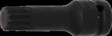 Bit-Einsatz | Länge 78 mm | Antrieb Innenvierkant 12,5 mm (1/2) | Innenvielzahn (für XZN) M18