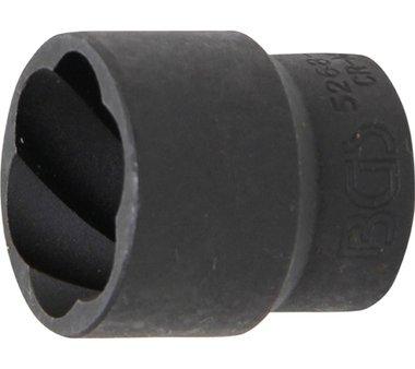 Spezial-Steckschlüssel-Einsatz / Schraubenausdreher 12,5 (1/2), 24 mm