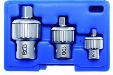 3-teiliges Ratschen-Adapter-Set