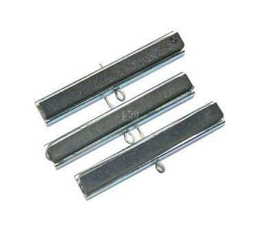 3 Spare Malende Koppen voor art.. 1156 50 mm Koppen Korrel 220