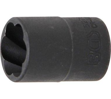 Spezial-Steckschlüssel-Einsatz / Schraubenausdreher, 10 (3/8), 16 mm