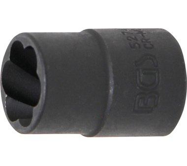 Spezial-Steckschlüssel-Einsatz / Schraubenausdreher, 10 (3/8), 14 mm