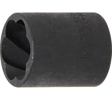 Spezial-Steckschlüssel-Einsatz / Schraubenausdreher , 10 (3/8), 19 mm
