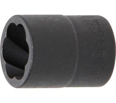 Spezial-Steckschlüssel-Einsatz / Schraubenausdreher, 10 (3/8), 17 mm