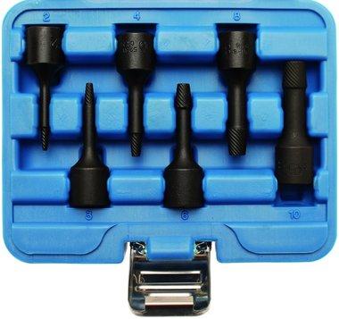 Spezial-Steckschlüssel-Einsätze, Twist, 10 (3/8), 2-10 mm, 6-tlg.