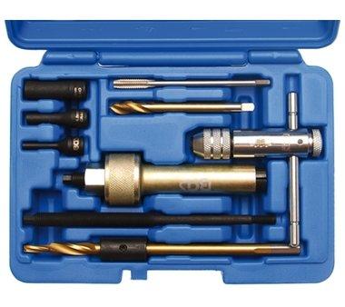 Glühkerzen-Demontage-Werkzeugsatz M9, 9-tlg.