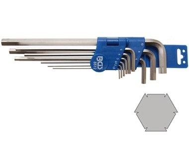 Spezial-Winkelschlüssel-Satz | Innensechskant 1,5 - 10 mm | 9-tlg.
