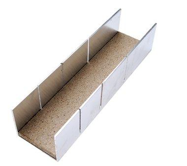 Aluminium-Gehrungslade 245 x 65 x 55 mm