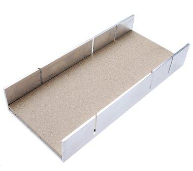 Aluminium-Gehrungslade 245 x 106 x 44 mm