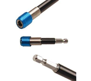 Automatischer Bithalter | Abtrieb Innensechskant 6,3 mm (1/4) | 80 mm