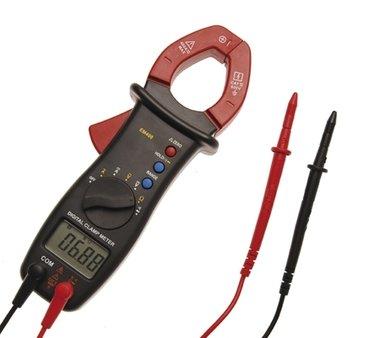 Digital-Multimeter mit Zange für Gleich- und Wechselstrom