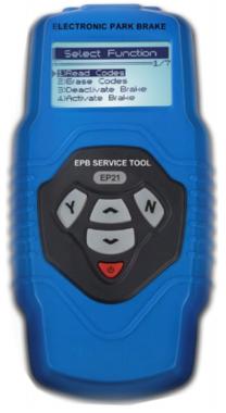 Elektronisches Bremsrückstell- und Diagnosegerät EPB / SBC