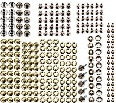Ösen-Druckknopf-Sortiment für Art. 572 195-tlg