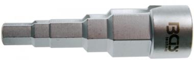 Stufenschlüssel Antrieb Innenvierkant 12,5 mm (1/2) 5-stufig